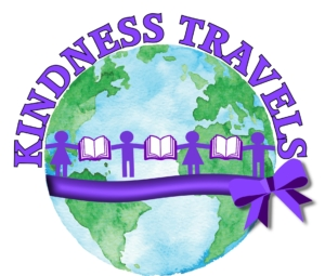 Kindness Travels - Kindness Book, Teaching Kindness and Fun